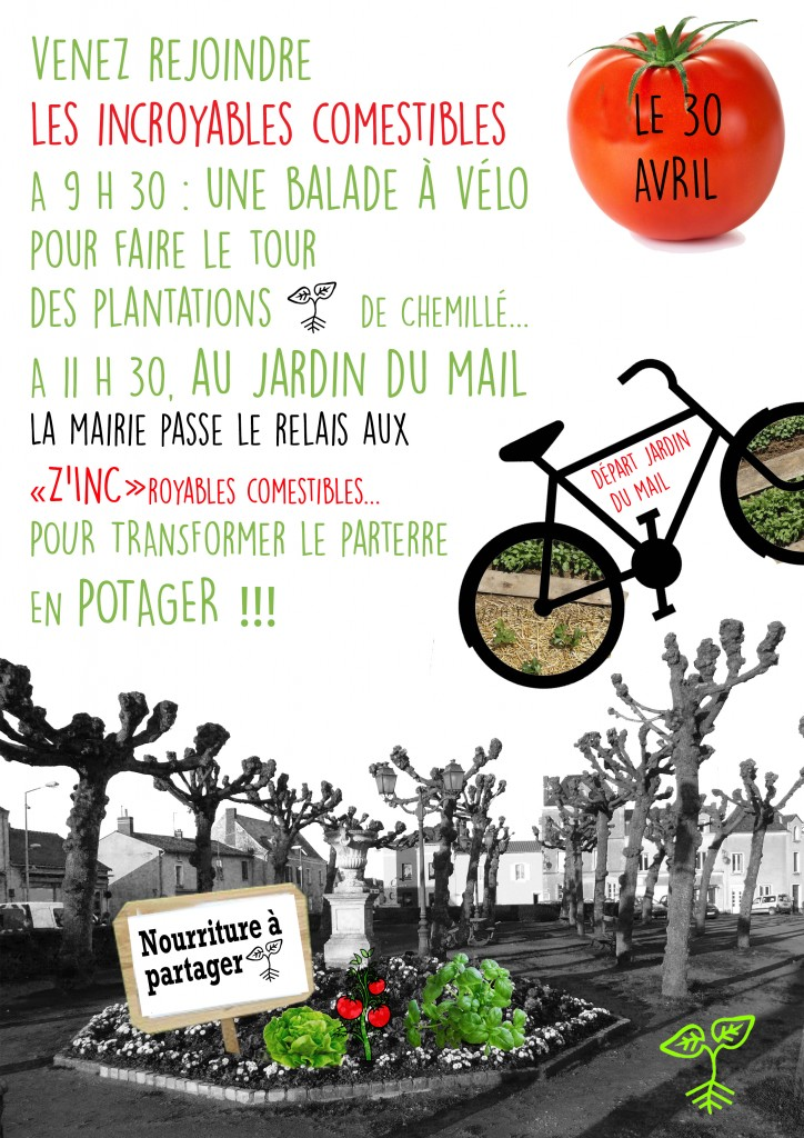 Flyer balade à vélo IC