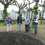 Nous avons reçu la visite d'Yvan, Christelle, Michel...